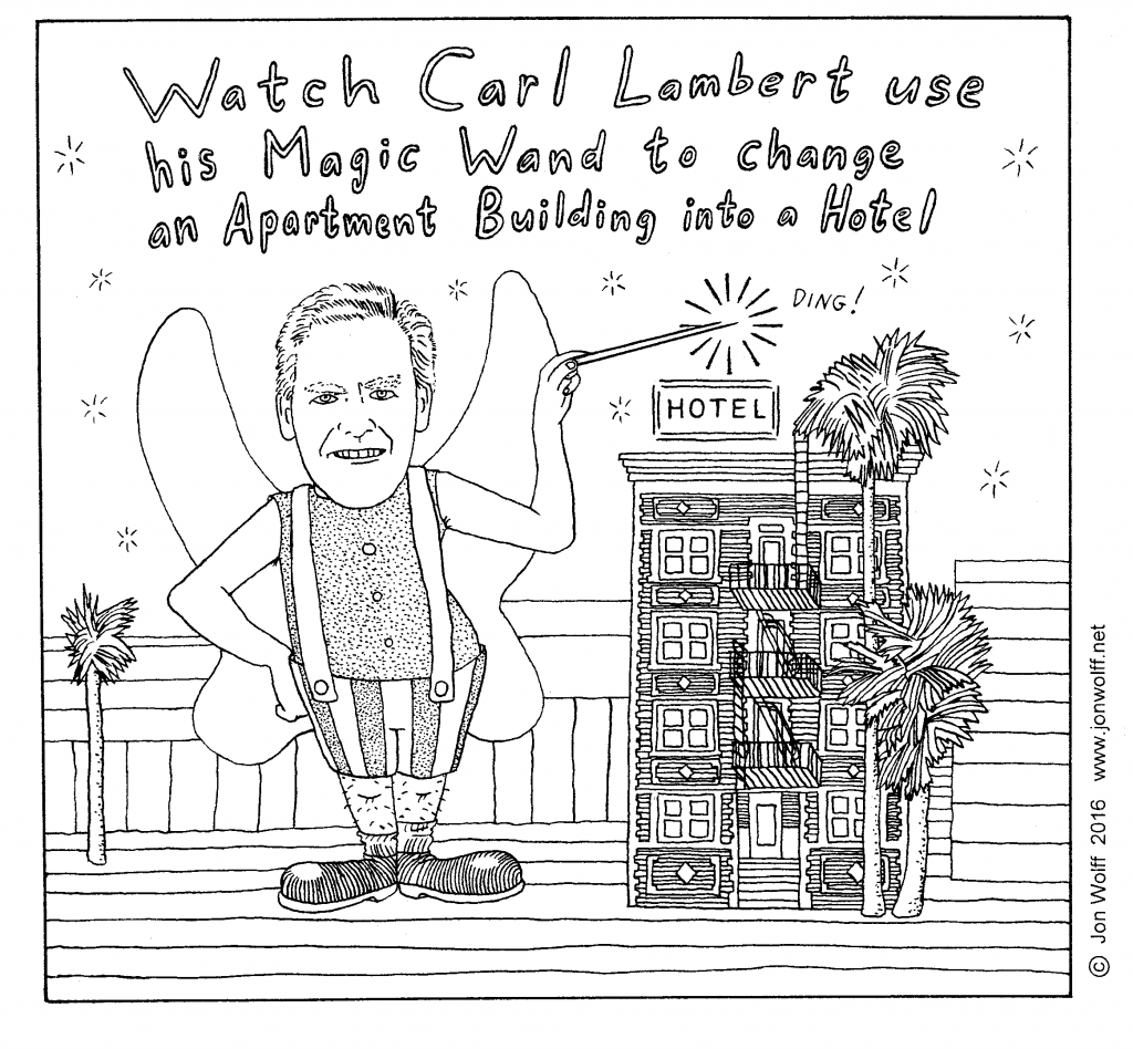 CarL Lambert Hotel COnversion Gentrification