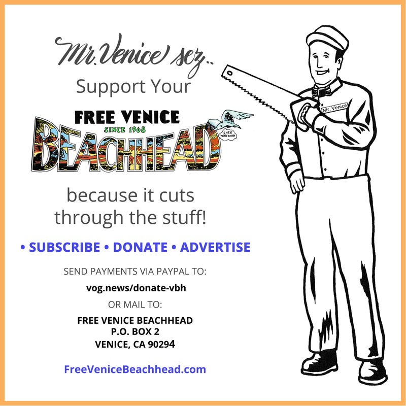 Donate Promo Venice beachhead