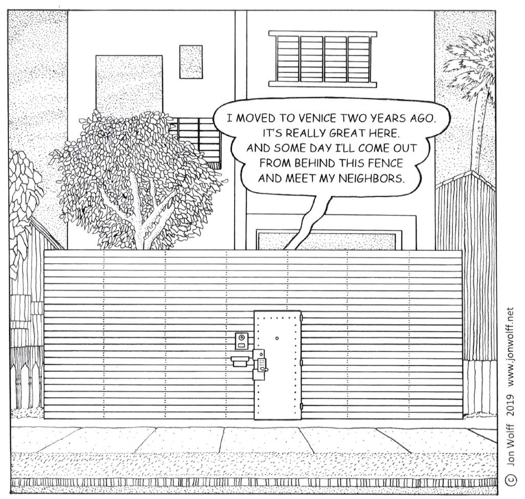 Gentrification , Comic | Jon Wolff