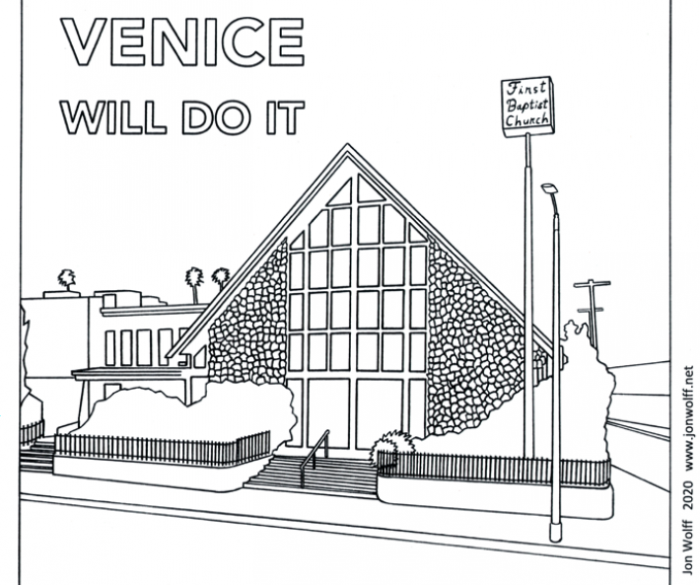Venice Will Do It ( Cartoon)